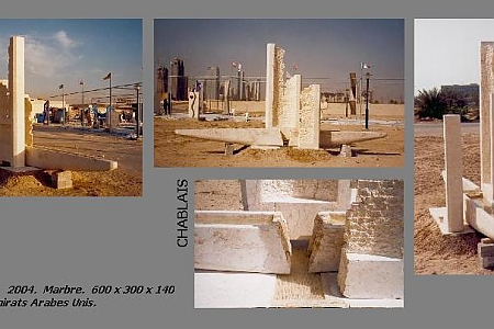 Chablais - 2004. Dubaï. U.A. EMIRATES.