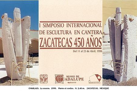 Chablais - 1998. Zacatecas. MEXICO.
